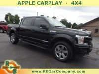 Used, 2018 Ford F-150 LARIAT 4WD, Black, 31165-1