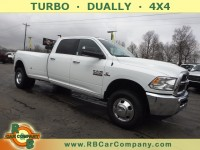 Used, 2018 Ram 3500 SLT 4x4 Crew Cab 8' Box DRW, White, 30735-1