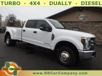 Used, 2019 Ford Super Duty F-350 DRW Pickup XLT 4WD, White, 30202-1