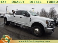Used, 2019 Ford Super Duty F-350 DRW Pickup XLT 4WD, White, 30734-1