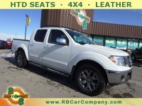 Used, 2019 Nissan Frontier Crew Cab 4x4 SL Auto *Ltd Avail*, White, 30578-1