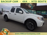 Used, 2019 Nissan Frontier PRO-4X 4WD, White, 30791-1