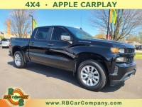 Used, 2020 Chevrolet Silverado 1500 Custom, Black, 32368-1