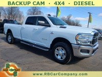 Used, 2020 Ram 2500 Big Horn 4x4 Crew Cab 8' Box, White, 32208-1