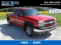 Used, 2005 Chevrolet Silverado 1500 LS, Red, 100547-1