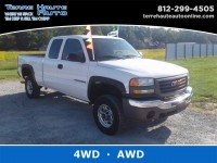 Used, 2007 GMC Sierra 2500HD Classic Work Truck, White, 101001-1