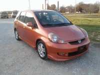 Used, 2007 Honda Fit Hatchback Sport, Orange, 100618-1