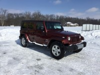 Used, 2010 Jeep Wrangler Unlimited Sahara, Red, TR101781TH-1