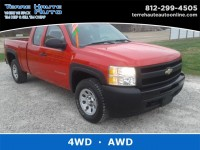 Used, 2011 Chevrolet Silverado 1500 Work Truck, Red, 101652-1