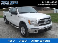 Used, 2013 Ford F-150 XLT, White, 101640-1