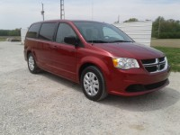 Used, 2014 Dodge Grand Caravan SE, Red, 100437-1