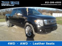 Used, 2014 Ford F-150 Limited, Black, 100312-1
