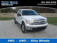 Used, 2014 Ford F-150 XLT, White, 101641-1