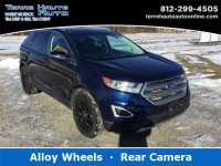 Used, 2016 Ford Edge Titanium, Blue, 101779-1