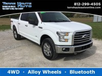 Used, 2017 Ford F-150 XLT, White, 101880-1