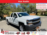 Used, 2017 Chevrolet Silverado 1500 Work Truck, White, 18855-1