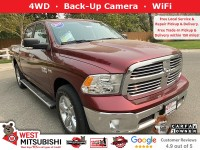 Used, 2017 Ram 1500 Big Horn, Red, 18875-1