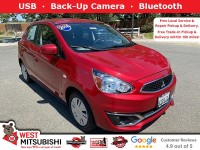 Used, 2018 Mitsubishi Mirage ES, Red, 18716-1