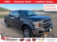 Certified, 2019 Ford F-150 LARIAT, Gray, 18627-1