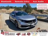 Used, 2019 Honda Civic Sedan LX, Silver, 18843-1