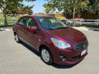 New, 2019 Mitsubishi Mirage G4 ES, Red, 16624-1