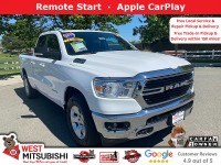 Certified, 2019 Ram 1500 Big Horn/Lone Star, White, 18749-1