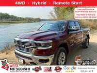 Used, 2019 Ram 1500 Laramie, Red, 18883-1