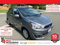 New, 2020 Mitsubishi Mirage, Gray, 16599-1