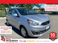 New, 2020 Mitsubishi Mirage, Silver, 16603-1