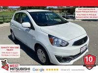 New, 2020 Mitsubishi Mirage, White, 16606-1