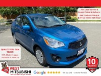 New, 2020 Mitsubishi Mirage G4, Blue, 16593-1