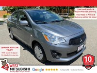 New, 2020 Mitsubishi Mirage G4, Gray, 16594-1