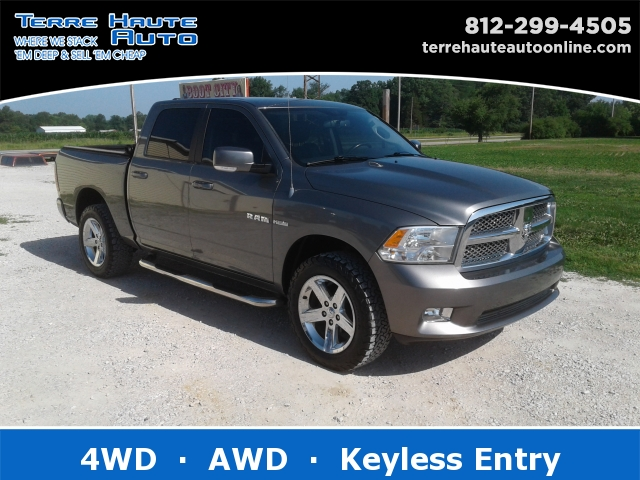Used Ram Trucks >> Used Dodge Ram For Sale Terre Haute Auto