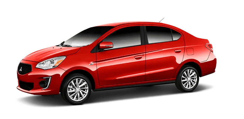 Mitsubishi Mirage - Infrared Metallic