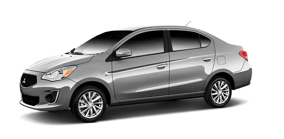 Mitsubishi Mirage - Mercery Gray Metallic