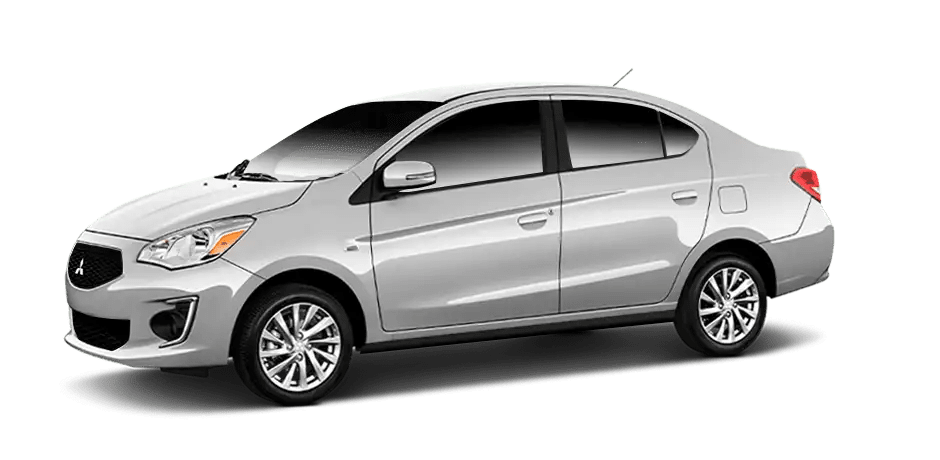 Mitsubishi Mirage - Starlight Silver Metallic