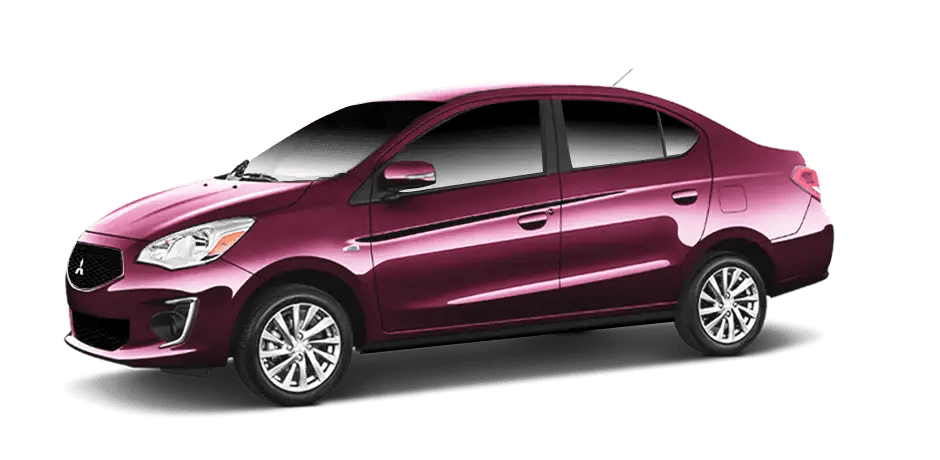 Mitsubishi Mirage - Wine Red Metallic