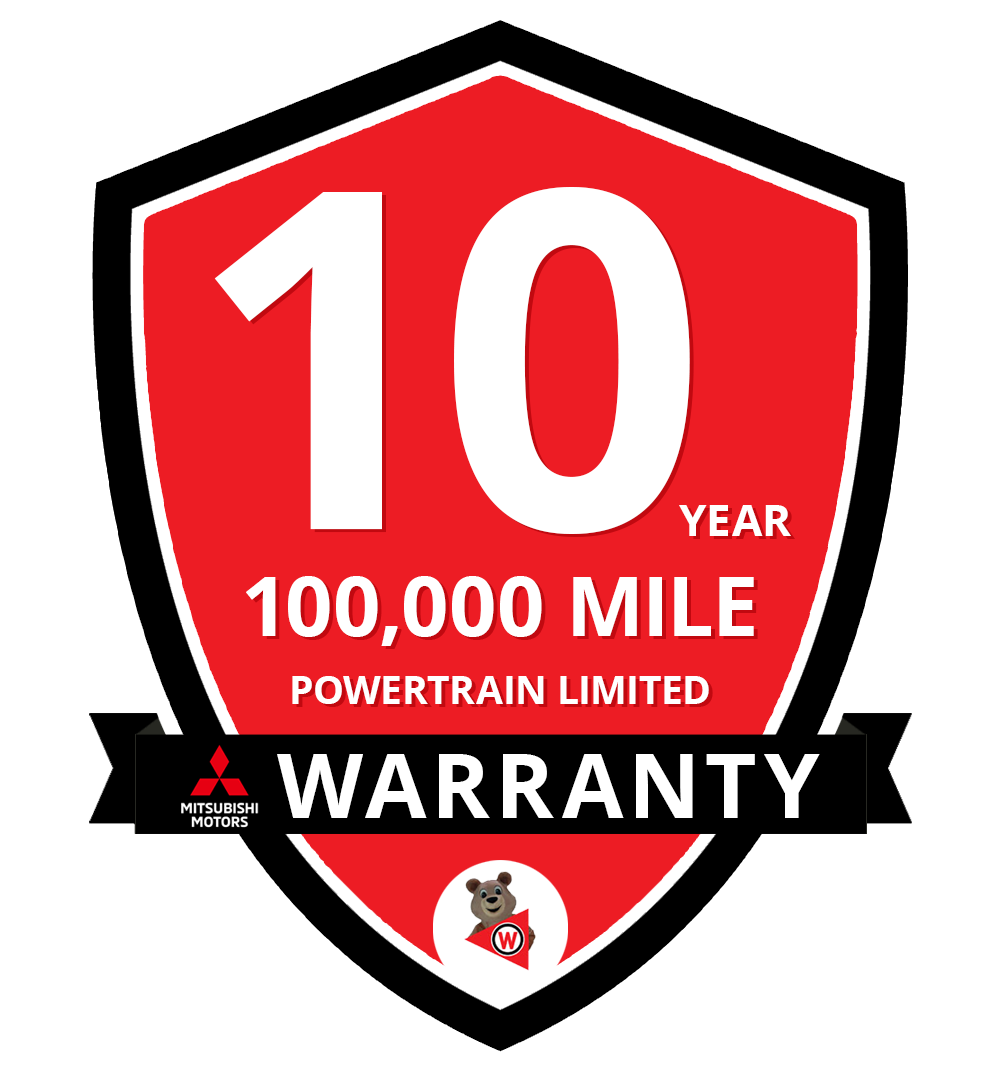 10-Year / 100,000 Powertrain Limited Warranty